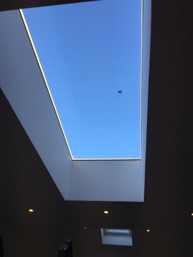 LED Lighting Within Sky Light